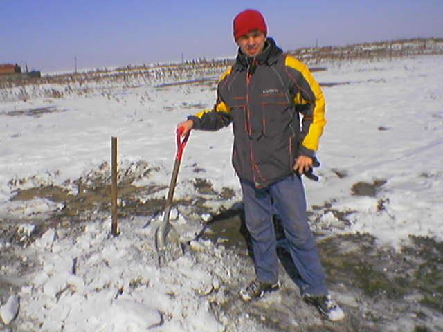 Как мы очищали стадион от снега